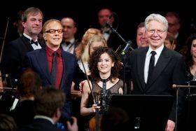 Danny Elfman, Sandy Cameron, John Mauceri, photo: Jan Malý, www.fotomaly.cz