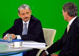 Mikuláš Dzurinda aPavel Hrušovský, foto: ČTK