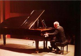Rudolf Firkušný, foto: Lenka Hlaváčková/ZUŠ Napajedla 1991