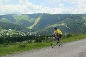 Radstrecke im Riesengebirge (Foto: Tschechisches Fernsehen)