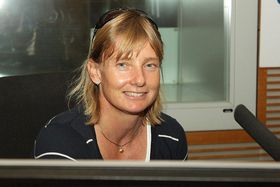 Štěpánka Hilgertová, photo: Jan Sklenář / Czech Radio