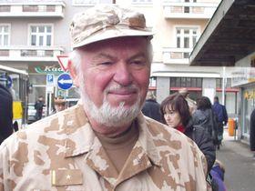 Major Jiří Vrtný, foto: autor