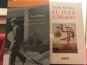 Libros de Ivan Klíma en espñaol, foto:  Juan Pablo Bertazza
