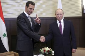 Башар Асад и Владимир Путин, Фото: ЧТК