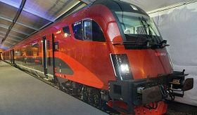 Rakouský rychlovlak Railjet, foto: Siemens.com