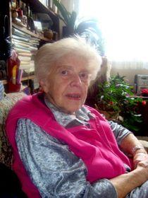 Louise Hermanová, foto: Luděk Jirka, Sbírka Post Bellum