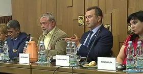 Muníb Alravi, Benjamin Kuras, Zdeněk Soukup, Klára Samková, photo: Czech Television