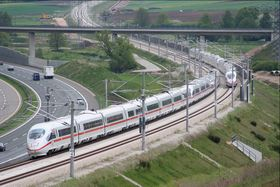 ICE-Strecke Nürnberg-München (Foto: Sebastian Terfloth, Wikimedia Commons, CC BY-SA 2.5)