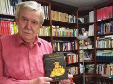Zdeněk Kalkus y su libro 'La historia secreta del descubrimiento de América', foto: archivo personal de Zdeněk Kalkus