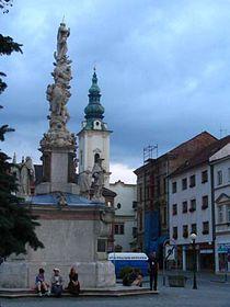 The Marian plague column