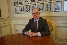 Пресс-атташе Алексей Колмаков, фото: архив Посольства РФ в ЧР