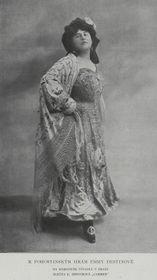 Эма Дестиннова в роли Кармен, 1907 г., фото: Wikimedia Commons, Public Domain