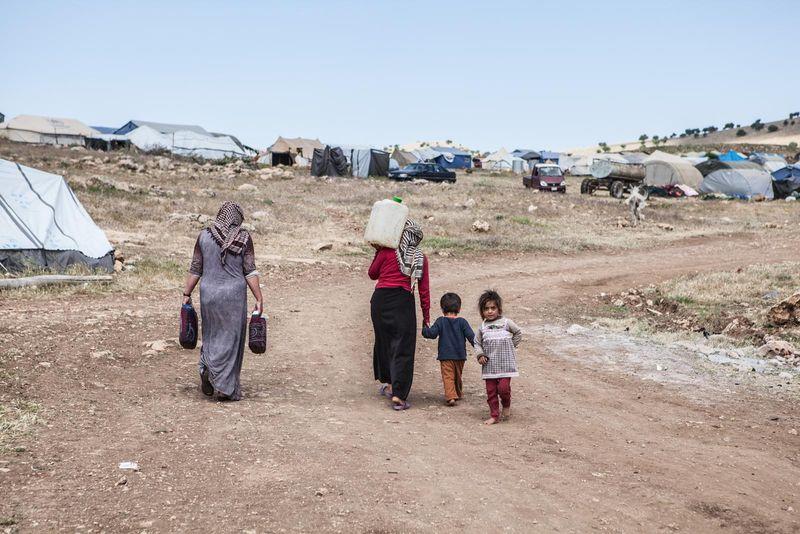 Des réfugiés de Sinjar, photo: Jarmila Štuková, Lenka Klicperová / iROZHLAS