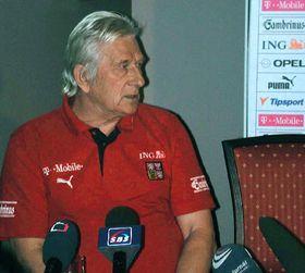 Karel Brückner, foto: CTK