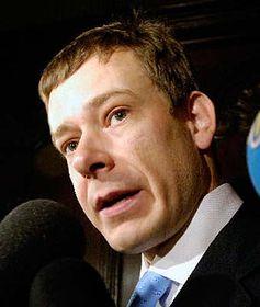 Ministro de Justicia dimitido, Pavel Nemec (Foto: CTK)