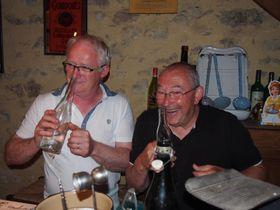Gilles Gautier et Guy Le Louet, photo: Archives de Paul Jamet