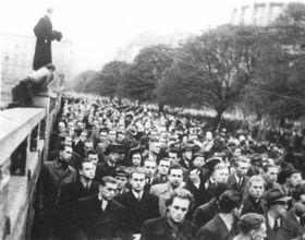 Kundgebung am 28. Oktober 1939