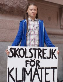 Greta Thunberg, photo: Anders Hellberg, CC BY-SA 4.0