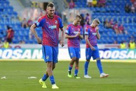 Los jugadores de Pilsen, foto: ČTK/Chaloupka Miroslav