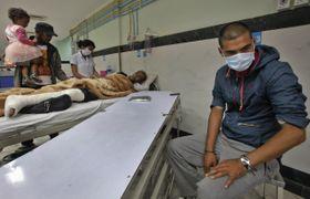 Bir hospital in Kathmandu, Nepal, May 13, 2015, photo: CTK