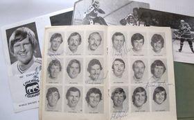 Eishockeyfotos aus der Sammlung von Martina Schneibergová (Foto: Archiv des Tschechischen Rundfunks - Radio Prag)