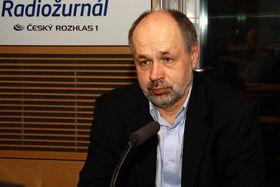 Jiří Pehe (Foto: Šárka Ševčíková, Archiv des Tschechischen Rundfunks)