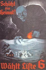 Wahlplakat der sudetendeutschen Sozialdemokraten (1936)