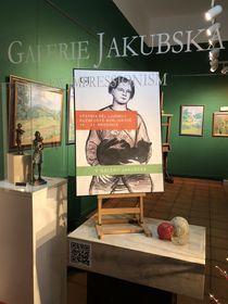 Выставка  работ Людмилы Кузнецовой-Бурлюк, Galerie Jakubska, фото: Евгений Деменок