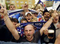 Fans of Banik Ostrava, photo: CTK