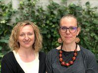 Lenka Kabrhelová a Rosamund Johnstonová, foto: Ian Willoughby