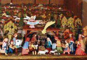 Рождественский вертеп, фото: Барбора Немцова