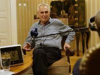Miloš Zeman, foto: Khalil Baalbaki
