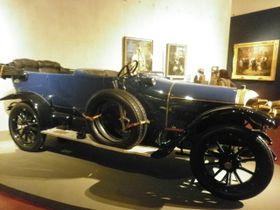 Automobil knížete Karla V. Schwarzenberga, foto: Zdeňka Kuchyňová