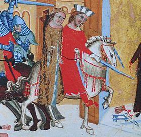 Князь Бржетислав похищает Итку из монастыря
