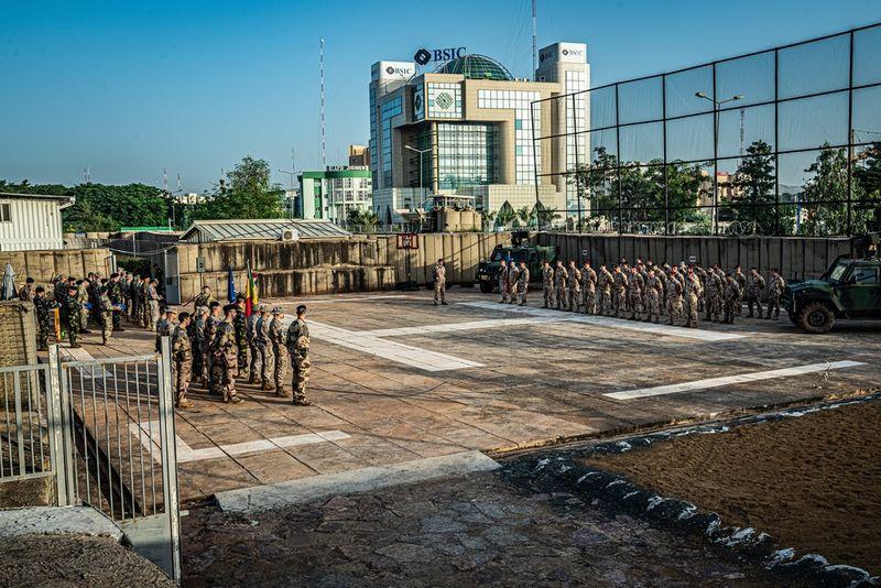 Les soldats tchèques à la mission au Mali, photo: Jaroslav Zoubek, Site officiel de l'armée tchèque