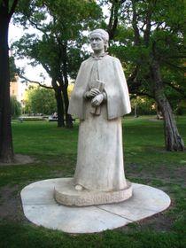 Statue der tschechischen Schriftstellerin Eliška Krásnohorská auf dem Prager Karlsplatz (Foto: Kristýna Maková, Archiv des Tschechischen Rundfunks - Radio Prag)