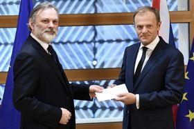 Формальное заявление о выходе Великобритании из ЕС, Фото: ЧТК