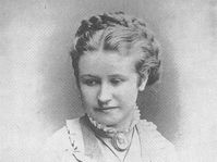 Eliška Krásnohorská en 1870