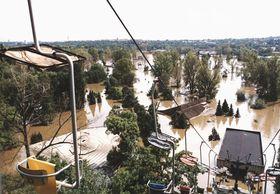 Hochwasser im Prager Zoo (Foto: ČTK)