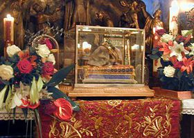 El cráneo de San Venceslao, foto: Archivo de Radio Praga