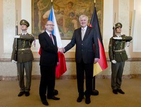 Bohuslav Sobotka und Horst Seehofer (Foto: ČTK)