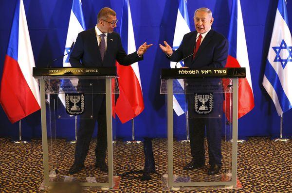 Andrej Babiš and Benjamin Netanyahu, photo: ČTK / AP Photo / Ariel Schalit, Pool