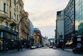 L'Avenue nationale à présent, photo: Ian Willoughby
