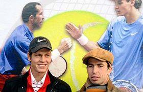 Tomáš Berdych, Radek Štěpánek (right), photo: CTK