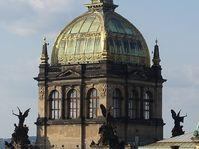 La cúpula del Museo Nacional de Praga, foto: Jklamo, CC BY-SA 3.0 Unported