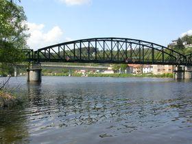Puente de Davle, cerca de Praga, foto: ŠJů, CC BY-SA 3.0