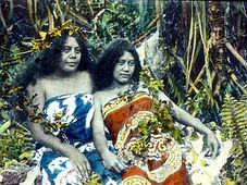 Таитские женщины (Фото: Марше Колониал)