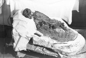 Kosterní pozůstatky šamanky, foto: archiv Centra kulturní antropologie