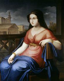 Портрет Долли Фикельмон кисти Филиппо Агриколы, Италия, ок. 1825, фото: открытый источник