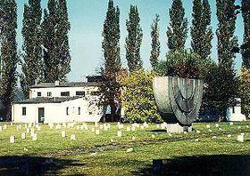 Terezin cemetery and crematorium